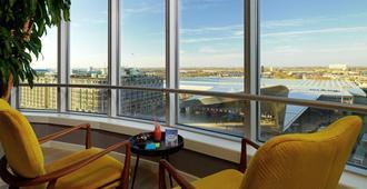 鹿特丹曼哈顿酒店 - 鹿特丹 - 阳台