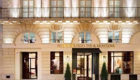 布尔格尼蒙塔纳酒店 - 巴黎 - 建筑