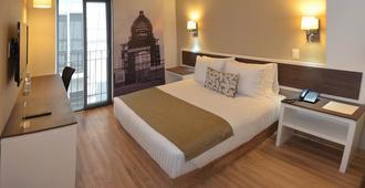革命广场酒店 - 墨西哥城 - 睡房