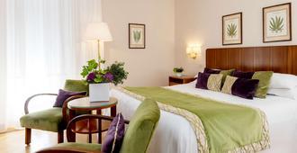 贝托嘉大西洋酒店 - 罗马 - 睡房