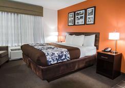 市中心司丽普酒店及会议中心 - 印第安纳波利斯 - 睡房