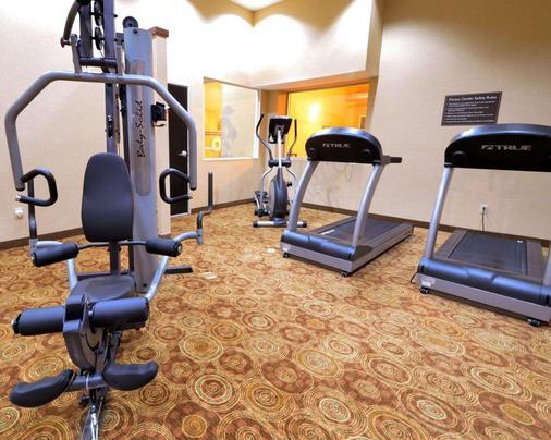 市中心司丽普酒店及会议中心 - 印第安纳波利斯 - 健身房