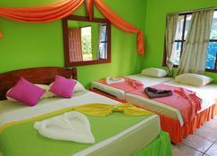 托尔图格罗天然家庭旅馆酒店 - 托尔图格罗 - 睡房