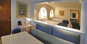 洛杉矶梅森酒店 - 瓦哈卡 - 睡房