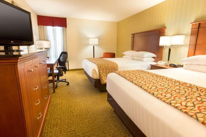 夏洛特大学德鲁里套房酒店 - 夏洛特 - 睡房