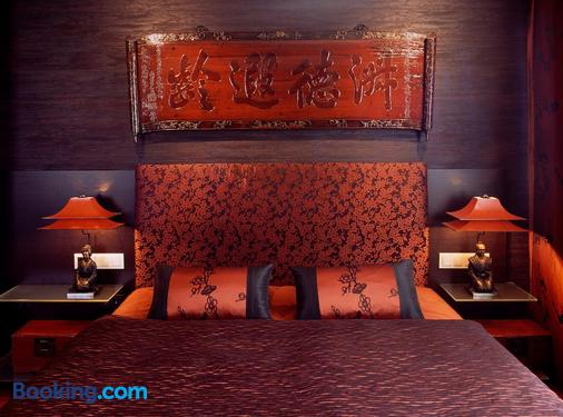 科隆萨沃伊酒店 - 科隆 - 睡房