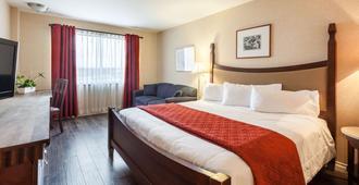 魁北克安巴萨多套房酒店 - 魁北克市 - 睡房