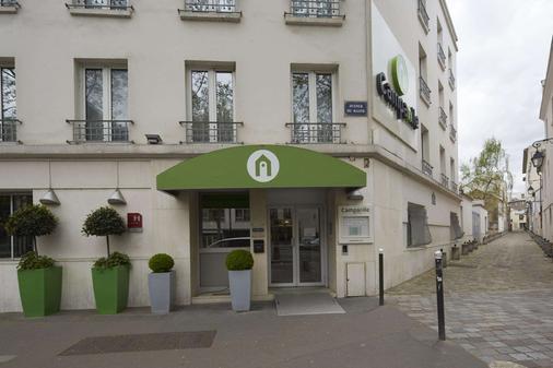 钟楼巴黎14玛娜巴纳斯峰酒店 - 巴黎 - 建筑