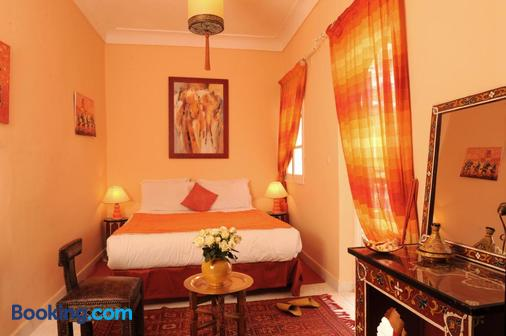 夏登摩洛哥传统庭院住宅 - 马拉喀什 - 睡房