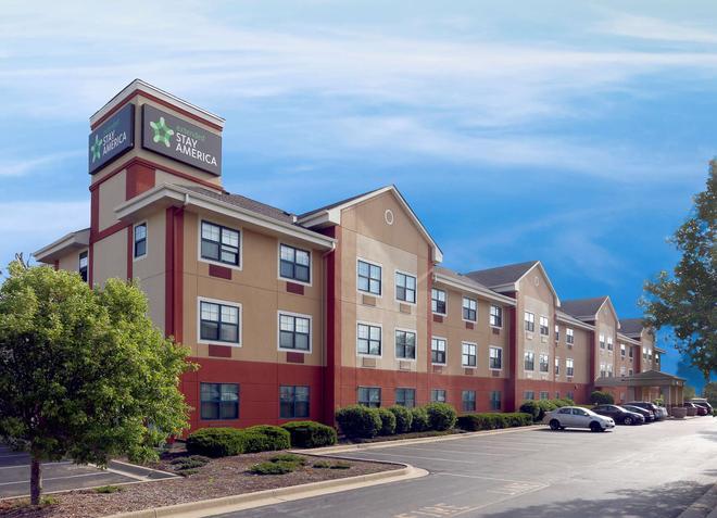印第安纳波利斯机场美国长住酒店 - 印第安纳波利斯 - 建筑