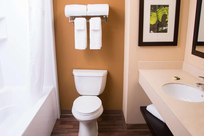 印第安纳波利斯机场美国长住酒店 - 印第安纳波利斯 - 浴室