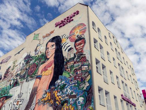 柏林米特美居酒店 - 柏林 - 建筑