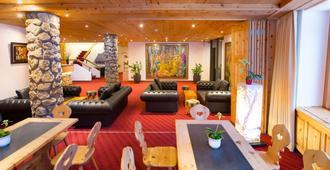 圣莫里茨新吉安体育及康体酒店 - 圣莫里茨 - 大厅