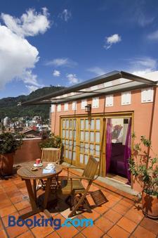 德卡之家酒店 - 波哥大 - 阳台