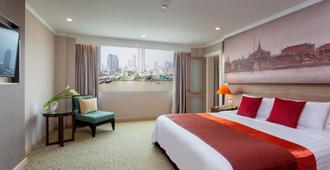 曼谷湄南河畔华美达广场酒店 - 曼谷 - 睡房