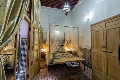 里亚德塔亚娜酒店 - 非斯 - 睡房