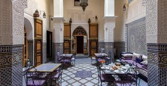 里亚德塔亚娜酒店 - 非斯 - 餐馆
