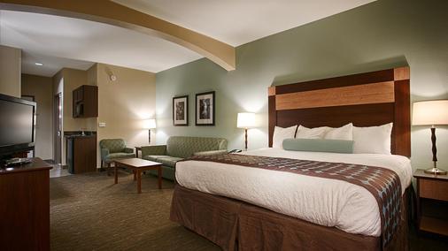 西佳plus特克萨卡纳套房旅馆 - Texarkana - 睡房