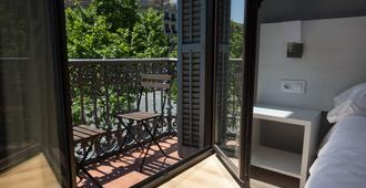 赫斯特林巴塞罗那格兰维亚酒店 - 巴塞罗那 - 阳台