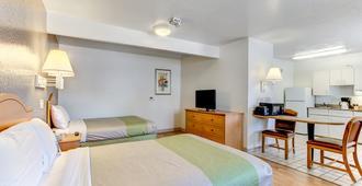 奥兰多 - 基西米6号一室公寓酒店 - 基西米 - 睡房