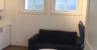 奥斯陆中央超棒地下室公寓酒店 - 奥斯陆 - 客厅
