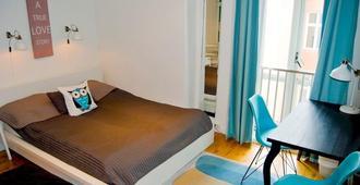 马肯旅馆 - 卑尔根 - 睡房
