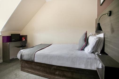 布雷多尔阿姆斯酒店 - 阿伯费尔迪 - 睡房