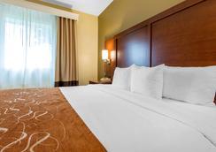 舒适套房酒店 - 罗切斯特 - 睡房