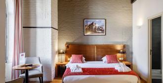 根特河大酒店 - 根特 - 睡房
