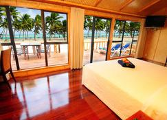 艾图塔基泻湖私人岛屿度假村(仅限成人) - 艾图塔基岛 - 睡房