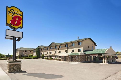 超级8爱达荷瀑布酒店 - 爱达荷福尔斯 - 建筑