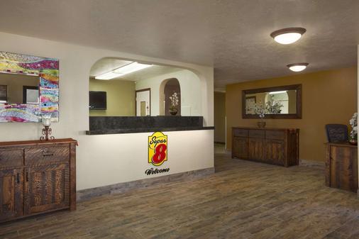 超级8爱达荷瀑布酒店 - 爱达荷福尔斯 - 柜台