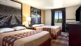 超级8爱达荷瀑布酒店 - 爱达荷福尔斯 - 睡房