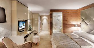 格堤诺山酒店 - 圣莫里茨 - 睡房