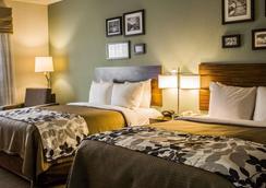 安眠套房酒店 - 哈里斯堡 - 睡房