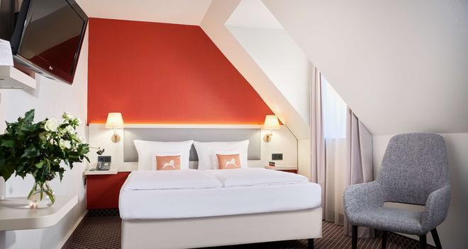 莱比锡市中心最佳西方酒店 - 莱比锡 - 睡房