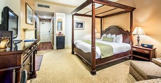 环河街酒店 - 萨凡纳 - 睡房