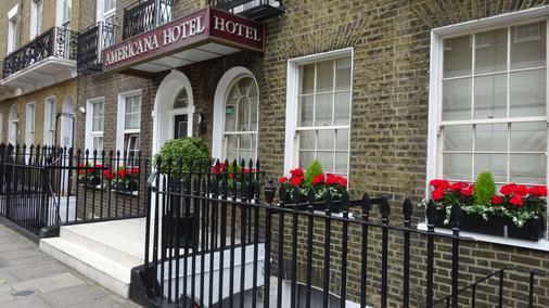 伦敦美洲大酒店 - 伦敦 - 建筑
