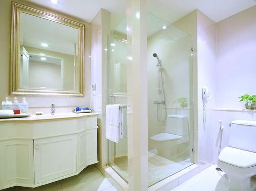 是隆中央酒店 - 曼谷 - 浴室