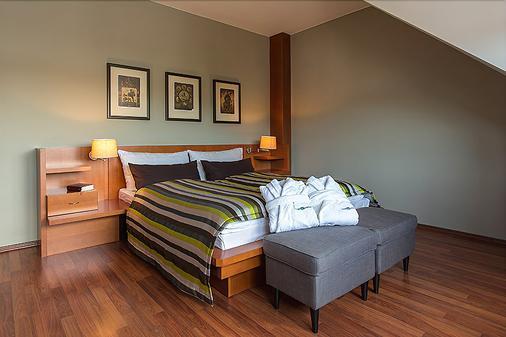 坡普尔卡酒店 - 布拉格 - 睡房