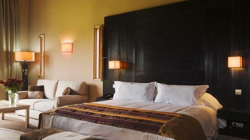 林帕茨温泉酒店 - 马拉喀什 - 睡房