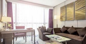 西安印力诺富特酒店 - 西安 - 客厅