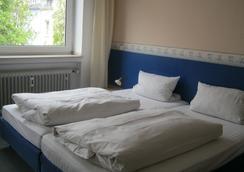 图恩臣eu中央酒店 - 杜塞尔多夫 - 睡房