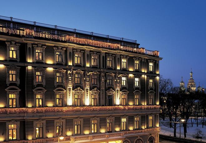 贝尔蒙德欧罗巴大酒店 - 圣彼德堡 - 建筑