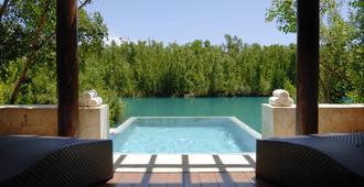玛亚克巴费尔蒙酒店 - 卡门海滩 - 游泳池