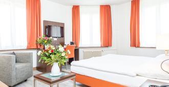 莱茵霍夫餐厅酒店 - 巴塞尔 - 睡房