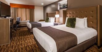 加佩珀特里机场贝斯特韦斯特酒店 - 斯波坎 - 睡房