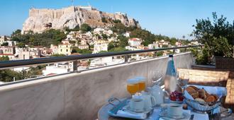 雅典伊莱克特拉宫殿酒店 - 雅典 - 阳台