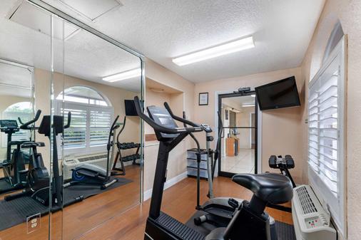 奥兰多机场质量酒店 - 奥兰多 - 健身房