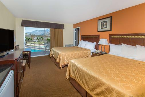 棕榈泉戴斯酒店 - 棕榈泉 - 睡房